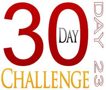 30DayChallenge23
