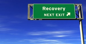 recovery-road-sign